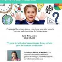 ANY Family & MUMS IN CONFERENCE - Lundi 26 novembre 14:00-16:00