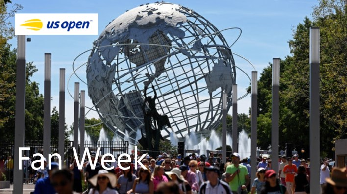 RDV Estival : US Open Fan Week